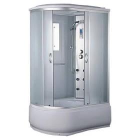 Гидромассажный бокс BADICO ECO 180012W правосторонний 120х80х215 с глубоким поддоном