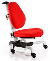 Детское кресло Mealux Y-517 WKR метал белый, обивка красная