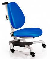 Детское кресло Mealux Y-517 WKB метал белый, обивка синяя