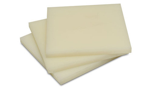 Капролон (полиамид) листовой, толщина 100,0 мм, размер листа 1000х1000 мм ТУ 6-05-988-93