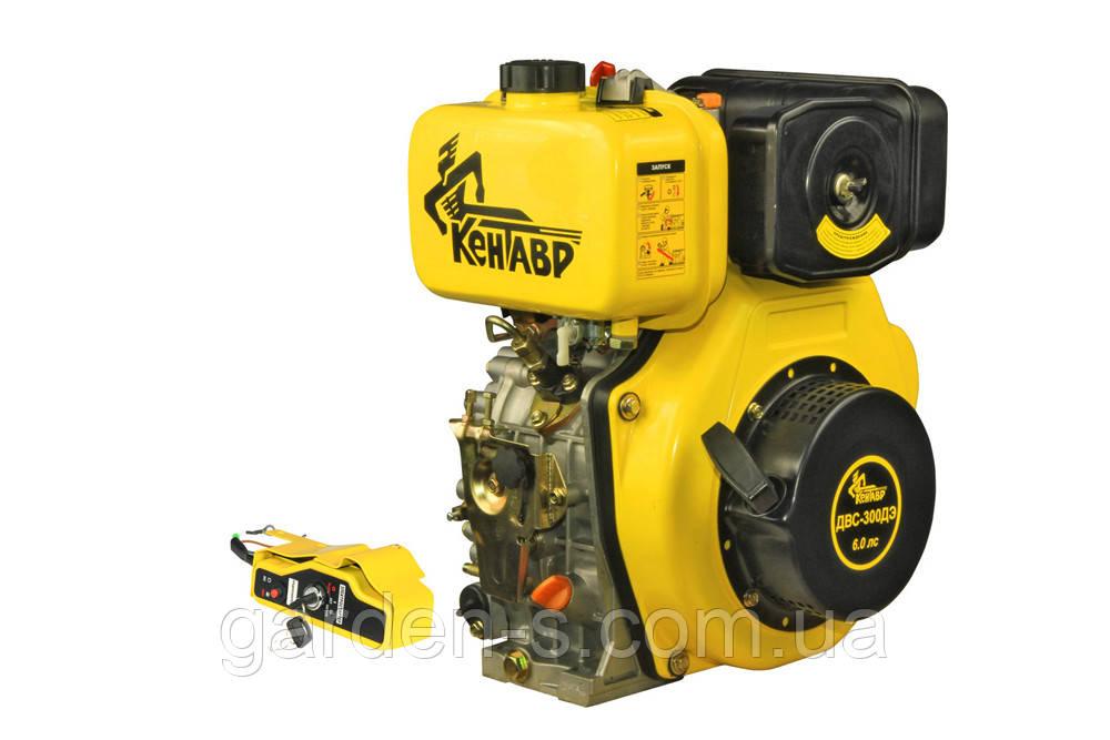 Дизельный двигатель Кентавр ДВС-300ДЭ 6 лс (с электростартером)