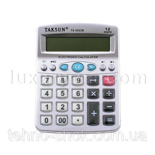 Калькулятор TS-3822B - 12, музичний