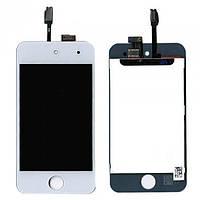 Тачскрин экран дисплей LCD+Touchscreen iPod Touch 4G White