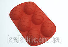 Форма силиконовая для выпечки Яйца 6шт