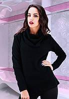 Кофта женская черная ангора