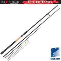 Удилище фидер. Salmo Diamond FEEDER 90 3.60