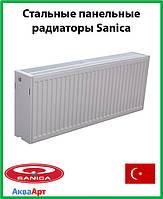Стальной радиатор Sanica 33k 300*2000 б.п.