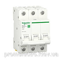Автоматичний вимикач Schneider RESI9 3P 40A З 6кА (R9F12340)