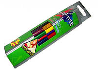 Карандаши цветные Marco Grip-Rite, двухсторонние 12 цветов 9101-12CB