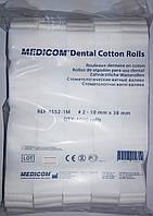 Ватные валики Medicom №2 (1000 шт, упак.)