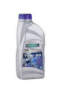 Масло трансмиссионное Ravenol 75W-90 TGO GL-5 1л