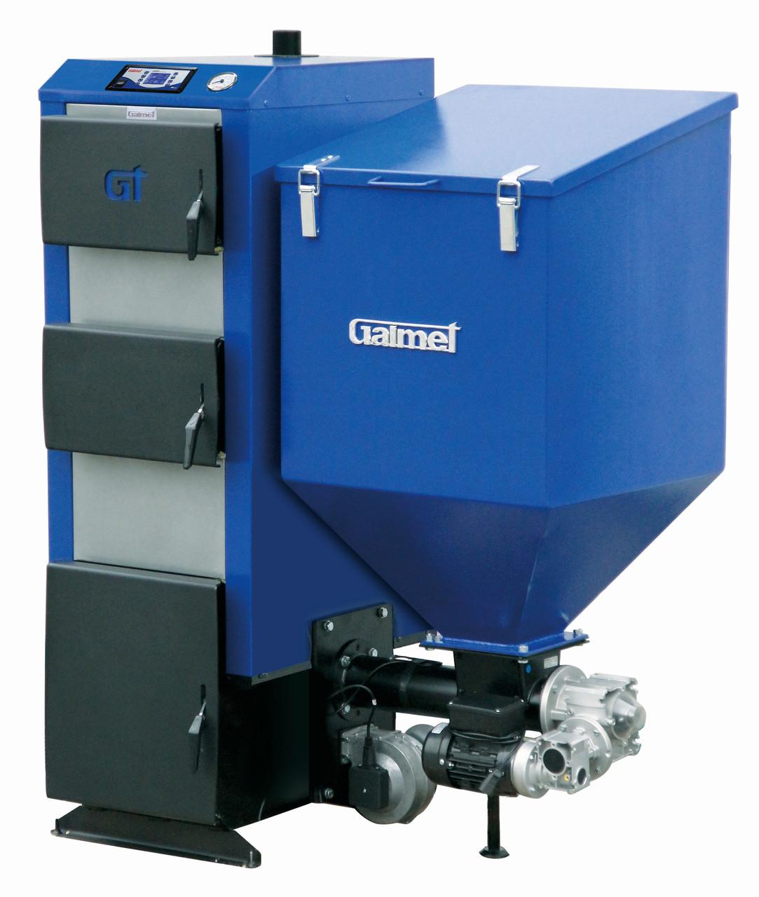 Твердотопливный автоматический котел на пеллетах Galmet Expert GT-KWP-M 25