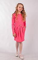 Детское платье нежно розового цвета