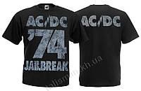 Футболка AC DC - 74 Jailbreak (графит)