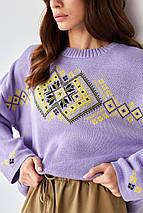 Джемпер oversize в украинском стиле «Этно», фото 3