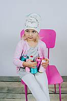 Детская шапка для девочек ДАЙС оптом размер 50-52-54