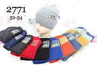 Дитячі шапки для хлопчиків, 52-54 см. Україна. Опт