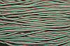Шнур 5мм с наполнителем (200м) красный + белый + зеленый