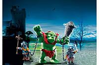 Игровые фигурки Playmobil Гигантский Тролль и стражники (6004)