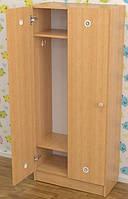 Шкаф детский для раздевалки (2 секции)