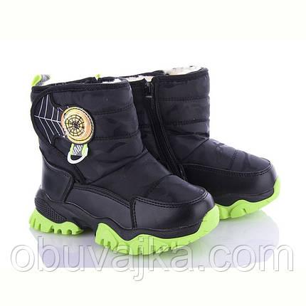 Зимове взуття оптом Сноубутсы для дітей від фірми Alemy Kids (27-32), фото 2