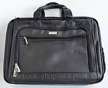 "Сумка для ноутбука 14-15,6"" U. S. Luggage New York (натарульна шкіра)"