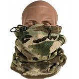 Баф buff маска чоловіча жіноча на шию зимовий флісовий шарф бандана на голову ZEPMA Камуфляж (1502), фото 8