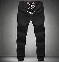 Мужские спортивные летние  штаны  черный