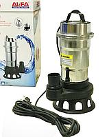 Дренажно-фекальный насос AL-FA ALWP50 ! 2800 Вт - 2500 л\мин