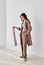 Вязаный длинный кардиган  «Зефирка» размер 54/60, фото 3