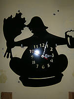 """Часы  """"Банщик"""""""