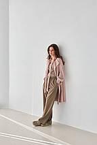 Модний вязаний кардиган «Зефирка» розмір 54/60, фото 3