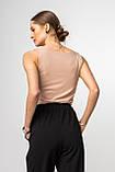 Жіночий топ Stimma Беслу 6613 Xs Бежевий, фото 2