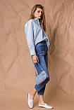 Жіноча сорочка Stimma Агура 8114 M Блакитний, фото 2