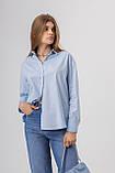 Жіноча сорочка Stimma Агура 8114 M Блакитний, фото 3