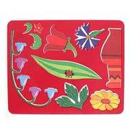 Трафарет №27 Цветы луговые 10С566-08