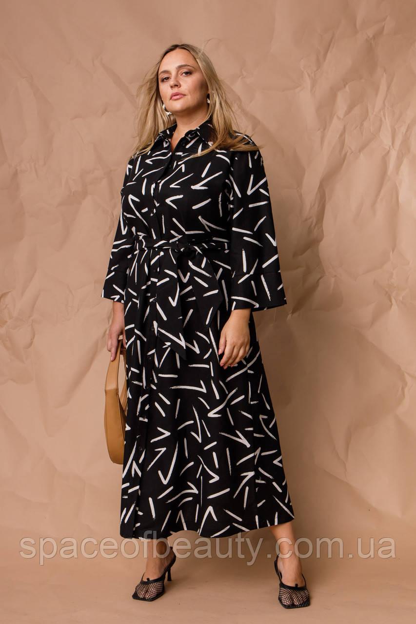 Жіноче плаття Stimma Гиннори 8037 2Xl Чорний 3XL