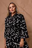 Жіноче плаття Stimma Гиннори 8037 2Xl Чорний 3XL, фото 2