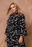 Жіноче плаття Stimma Гиннори 8037 2Xl Чорний 3XL, фото 4