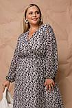 Женское платье Stimma Вилди 8101 2Xl Черный, фото 2
