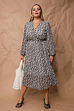 Женское платье Stimma Вилди 8101 2Xl Черный, фото 3