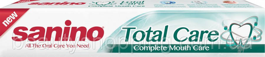 Зубная паста Sanino Total Care Комплексный уход 50 мл