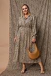 Жіноче плаття Stimma Пауліна 8122 2Xl Бежевий, фото 3