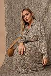 Женское платье Stimma Паулина 8122 2Xl Бежевый, фото 4