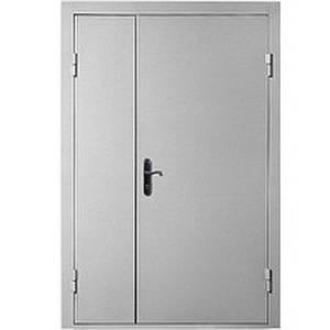 Входная металлическая техническая дверь