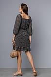 Жіноче плаття Stimma Джанет 8139 Xs Чорний, фото 3
