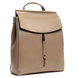 Рюкзак женский кожаный ALEX RAI 05-01 3206 хаки