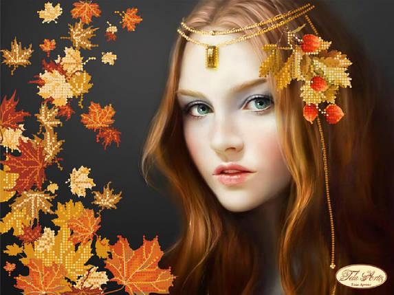 """Рисунок на ткани для вышивания бисером """"Осень"""", фото 2"""