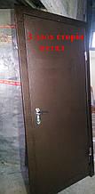 ДВЕРІ МЕТАЛЕВІ БЕЗКОШТОВНА ДОСТАВКА ТЕХНІЧНІ, двері вхідні 86 на 2,05×