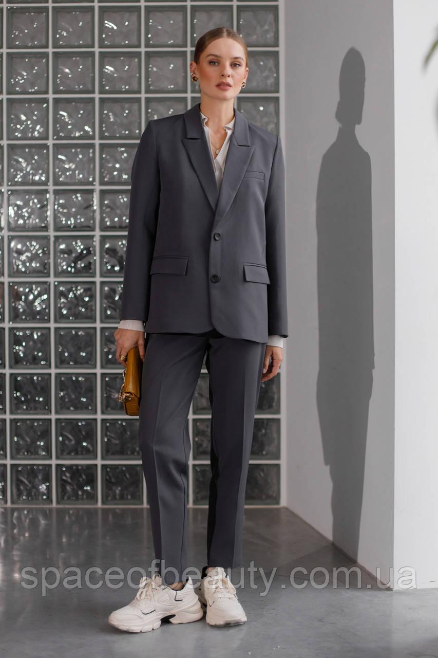 Жіночий костюм Stimma Азолла 8173 Xs Графіт